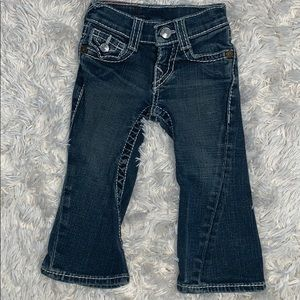 🌈 True Religion Bootcut Baby Jeans Sz 2T